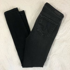 AG ADRIANO GOLDSCHMIED  Ripped black jeans